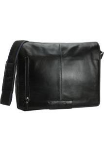 Bolsa Carteiro Masculina Para Notebook Em Couro 1099Sf