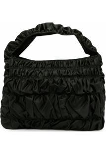 Molly Goddard Bumpy Thick-Handle Shoulder Bag - Verde