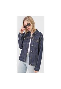 Jaqueta Jeans Calvin Klein Jeans Slim Trucker Azul