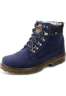 Bota Eco Canyon First Azul Marinho