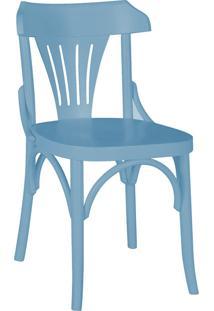 Cadeiras Para Cozinha Opzione 81 Cm 426 Azul Serenata - Maxima