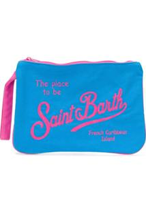Mc2 Saint Barth Kids Necessaire Com Logo - Azul