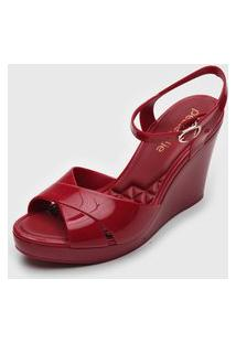 Sandália Petite Jolie Kiki Vermelha