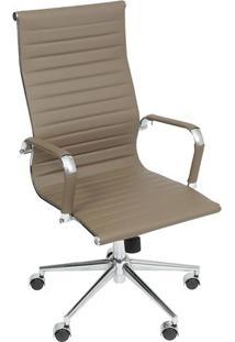 Cadeira Office Eames Esteirinha- Fendi- 110X61X46,5Cor Design