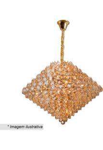 Lustre Diamond- Dourado- 56X78Cm- Bivolthevvy
