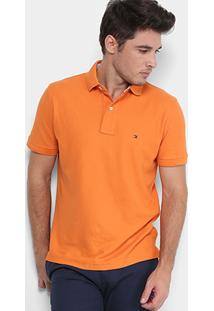 Camisa Polo Tommy Hilfiger Piquet Performance Elastano Masculina - Masculino