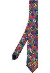 Versace Gravata Estamapda - Estampado