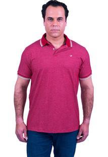 Camisa Polo Lupim Vermelha