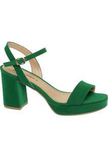 Sandália Meia Pata Verde
