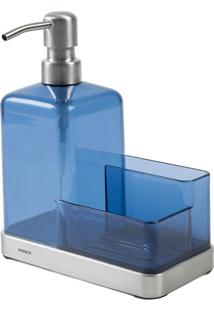 Organizador De Pia Elegance Azul