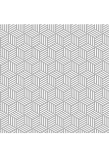 Papel De Parede Stickdecor Adesivo Geométrico Cubos Em Linhas
