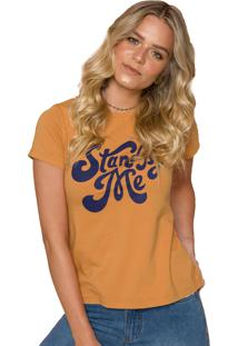 T-Shirt Sislla Stand By Me Mostarda