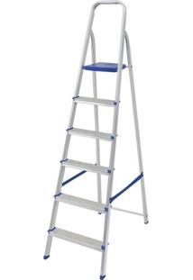 Escada Alumínio Mor 6 Degraus