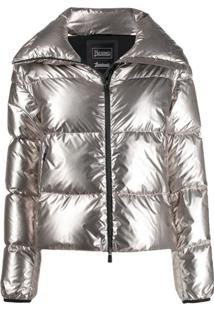 Herno High-Neck Puffer Jacket - Cinza