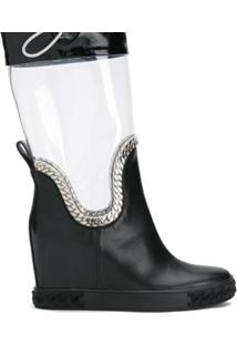 Casadei Galocha 'Glass' - Preto