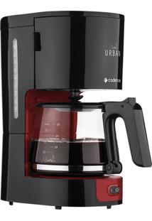 Cafeteira Elétrica Cadence Preta E Vermelha Urban Caf600 - 220V
