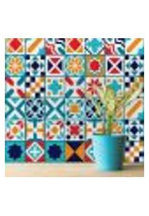 Adesivo Quadriculado Para Azulejo Madri 15X15 Cm Com 36Un