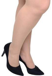 Sapato Feminino Scarpin Em Tecido Tanara Preto