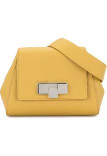 Bottega Veneta Pochete Mini - Amarelo