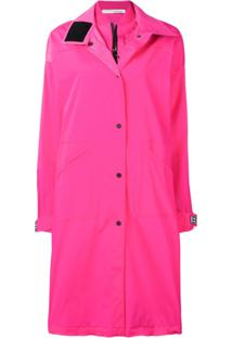 Off-White Trench Coat K-Way - Rosa