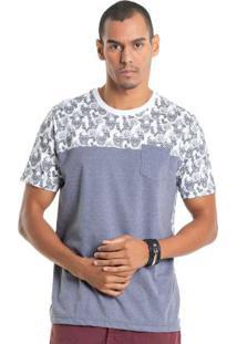Camiseta Com Estampa Caveiras Branco Bgo