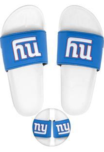 Chinelo Nfl New York Giants Azul/Branco
