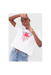 Camiseta Guess Palm Tree Branca