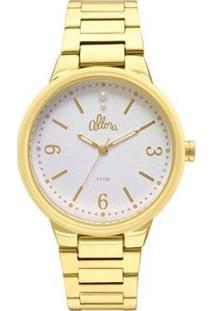 Relógio Allora Feminino Encanto Da Sereia Al2035Lo/4K - Al2035Lo/4K - Feminino-Dourado