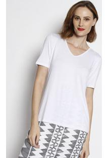 Camiseta Lisa- Branca- Simple Lifesimple Life
