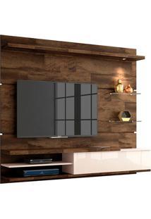 """Home Suspenso Para Tvs De Até 55"""" Destak Deck / Off White"""