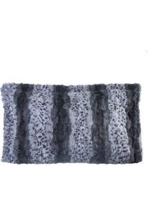Porta Travesseiro De Pele Jaguar