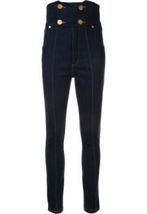Alice Mccall Calça Jeans Jadore Cintura Alta - Azul