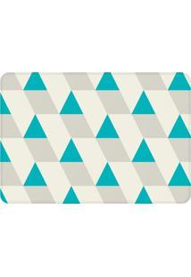 Tapete Love Decor De Sala Wevans Triângulos Azuis