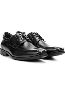 Sapato Social Democrata Duo Soft Masculino - Masculino-Preto