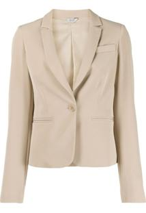 Liu Jo Tailored Single-Breasted Blazer - Neutro