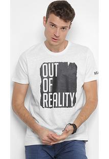 Camiseta Colcci Estampada Out Of Reality Masculina - Masculino