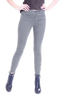 Calça Gup'S Jeans Desfiada Militar Verde