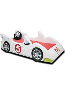 Cama Cama Carro Speed Branco - Branco - Dafiti