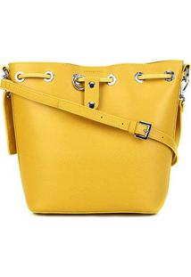 Bolsa Santa Lolla Shopper Risco Feminina - Feminino-Amarelo