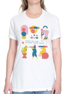 Para Se Ver - Camiseta Basicona Unissex