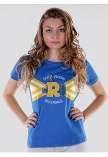 Camiseta Bandup! Riverdale River Vixens - Feminino-Azul