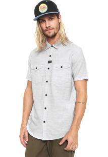 Camisa Globe Reta Premium Cinza
