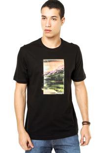 Camiseta West Coast Paisagem Preta