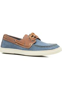 Mocassim Masculino Estilo Dockside Keep Shoes- 1100 Cor Azul - Masculino