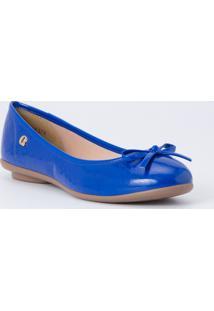 Sapatilha Lace Navy Carmen Steffens Azul
