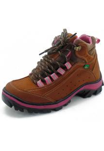 Coturno Adventure Para Trilha Atron Shoes 019 Castor