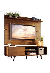Rack Madesa Dubai E Painel Para Tv Até 65 Polegadas Com Pés - Rustic Marrom