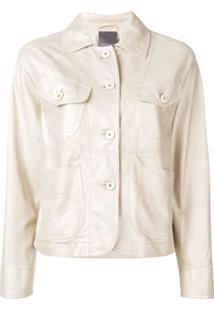 Lorena Antoniazzi Long-Sleeved Jacket - Neutro