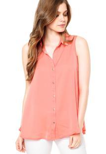 Camisa Forum Botões Rosa