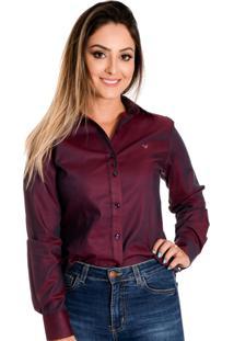 Camisa Pimenta Rosada Emillie Vermelha